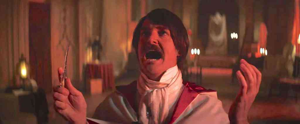 Will Forte is failed popstar Christian Winter who is going to enact a virgin sacrifice to regain his popularity in Extra Ordinary (2019)