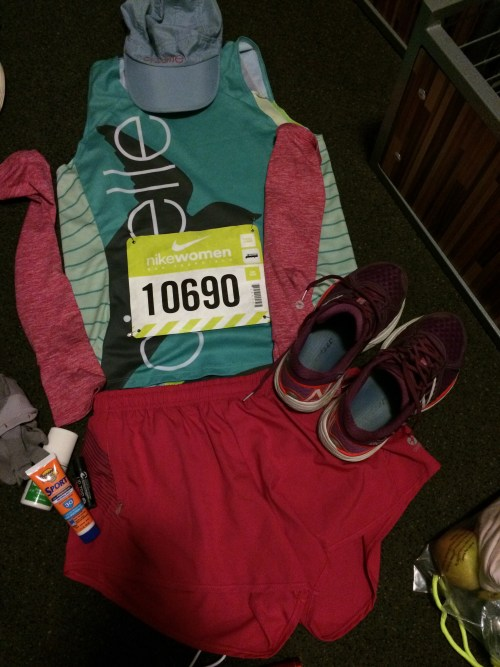 Flat Jennie, ready for the race.