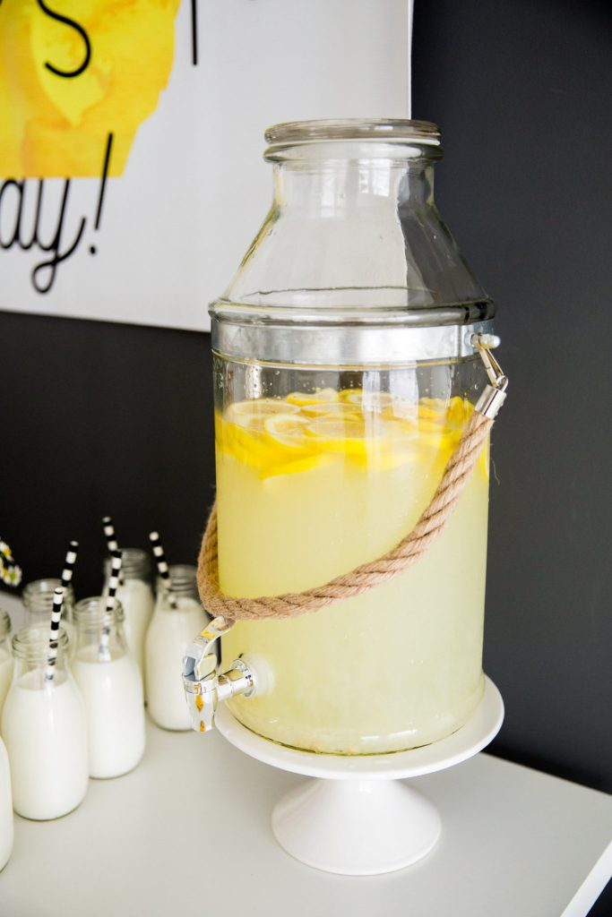 lemonade, lavender infused lemonade