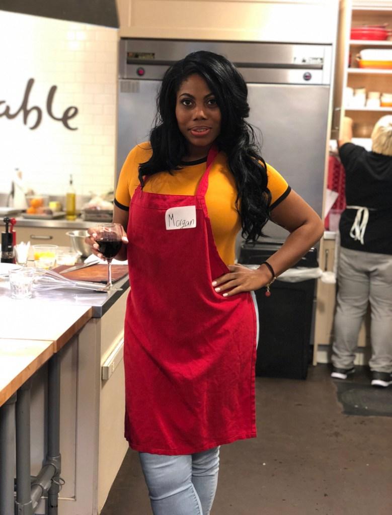 Morgan Kelley, Sur La Table cooking class