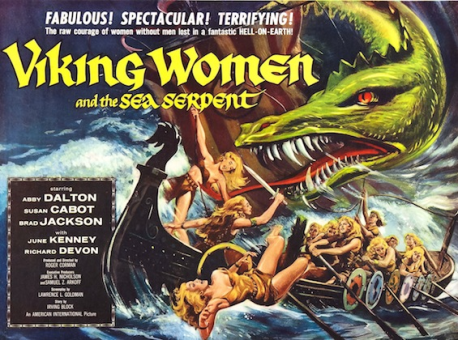 Viking-Women-And-The-Sea-Serpent-