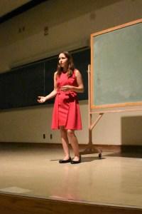 Rebecca Lemke Public Speaking