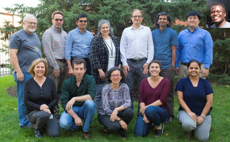 A photo of the CMRR Ataxia Imaging Team