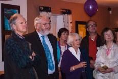 Festival Launch audience including Councillor Ciarán Byrne.
