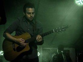 Darren Sweeney in Ryan's band Photo by Krystyna