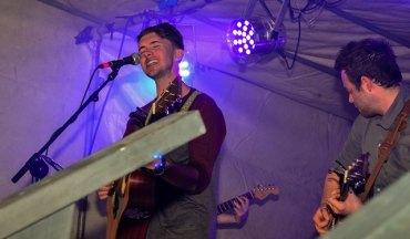 Ryan singing Photo by Krystyna