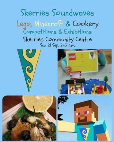 Lego Minecraft Cookery Day date and time 2014