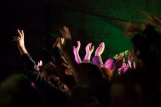 Crowd during Jerry Fish