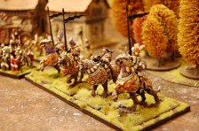 Another exotic unit in the army is the Demigryph Knights