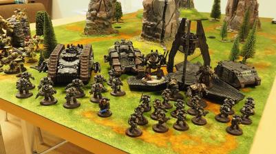 Armies on Parade: Ironhands, photo by: Leonard Dime