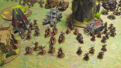 Armies on Parade: Space Wolves, photo by: Leonard Dime