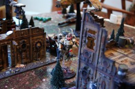 The Coldstar commander takes to the skies and makes a skyleap towards Jacob's left flank.