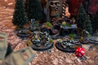 At the start of turn 4, the Tau general concedes which earns the Droptroops their second crushing victory in the new edition of the game! As the rangers secure the objectives, any remaining Xeno scum are relieved of their miserable lives!