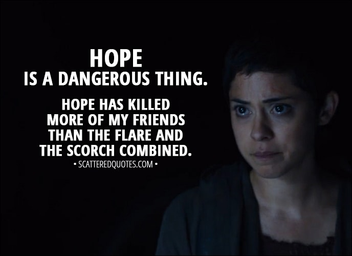 Maze Runner Quotes With Page Numbers: Teresa Maze Runner Quotes