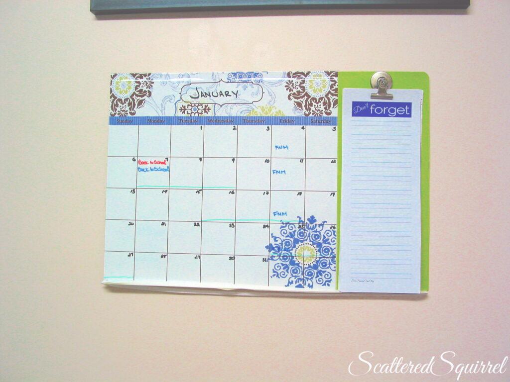 Calendar Plain 2013 Blank
