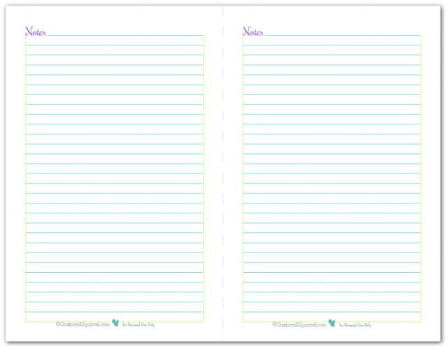 Click the picture to download the Printable Notes by scatteredsquirrel !