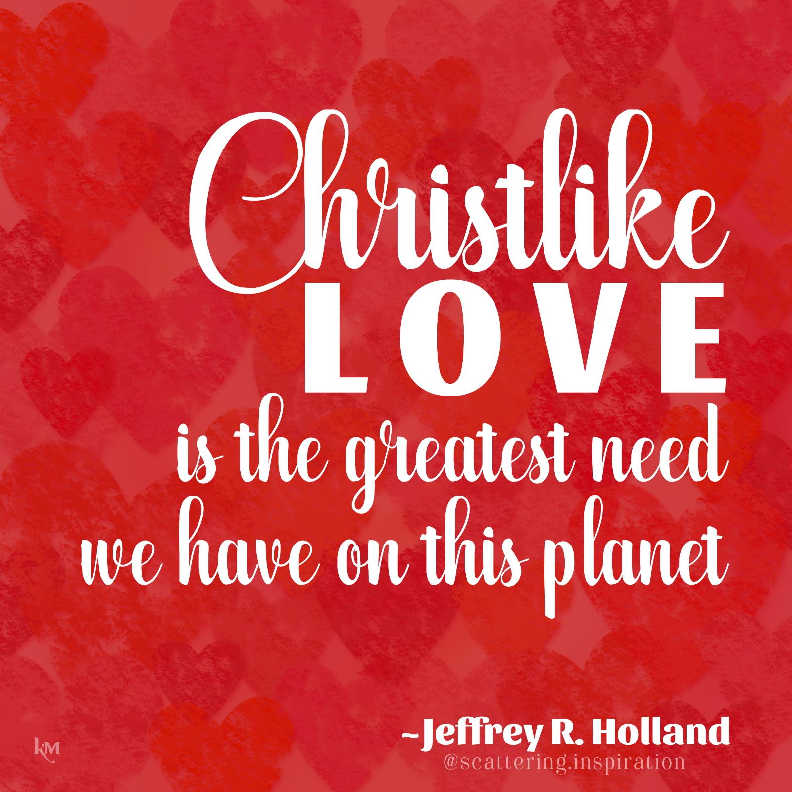 Christlike love