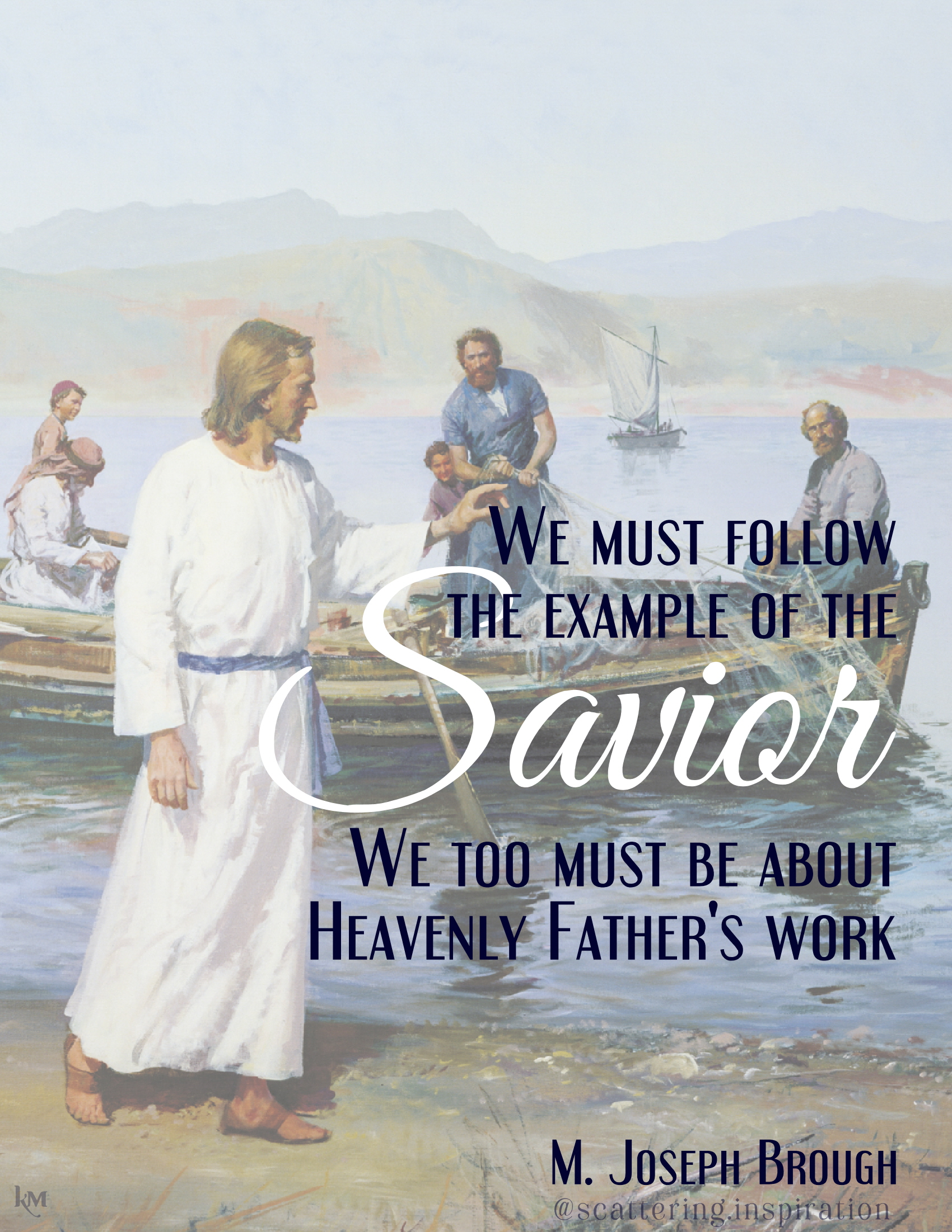 be about Heavenly Fathers work