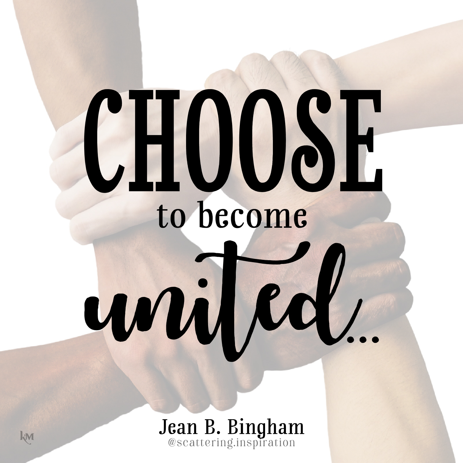 choose to become united