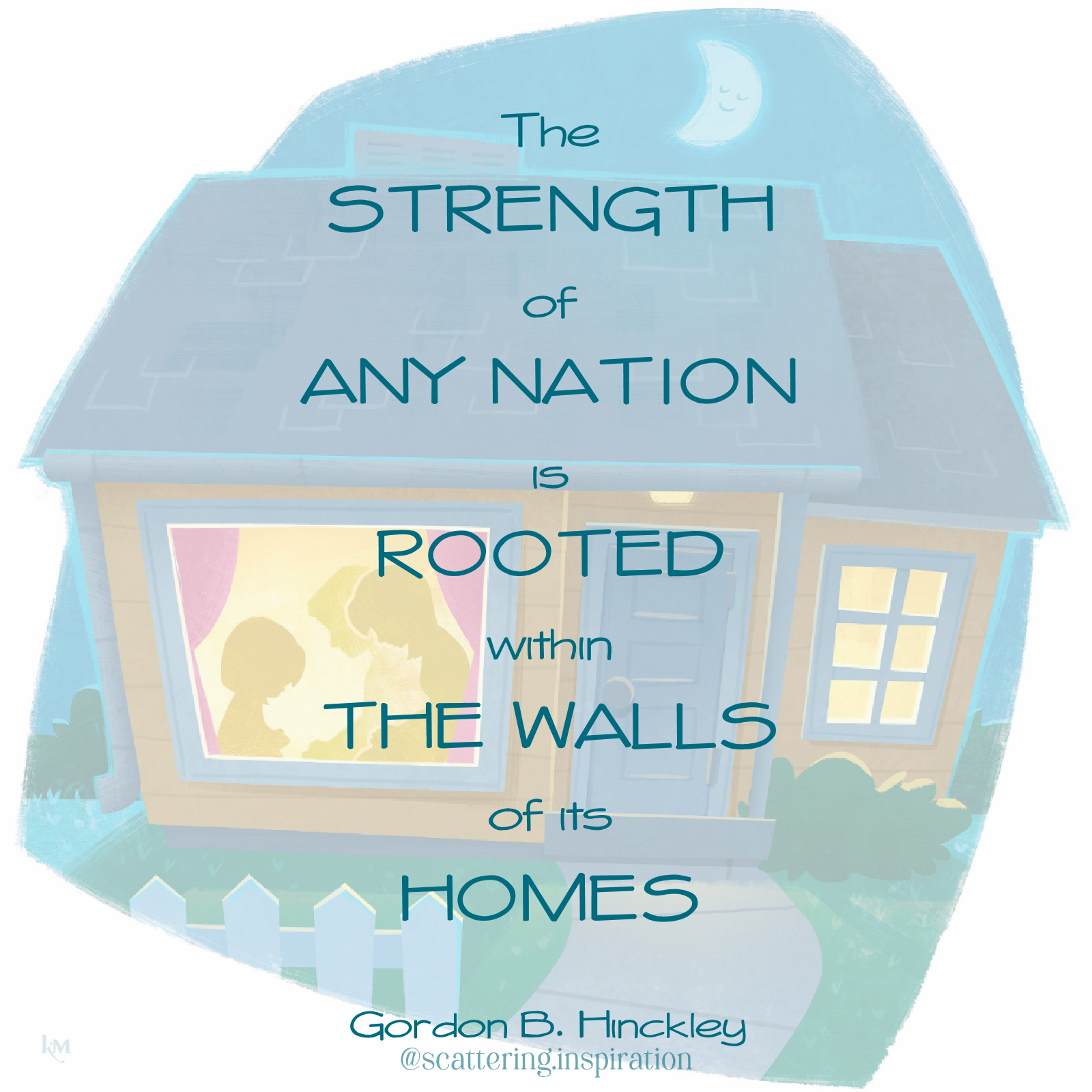strength rooted in homes