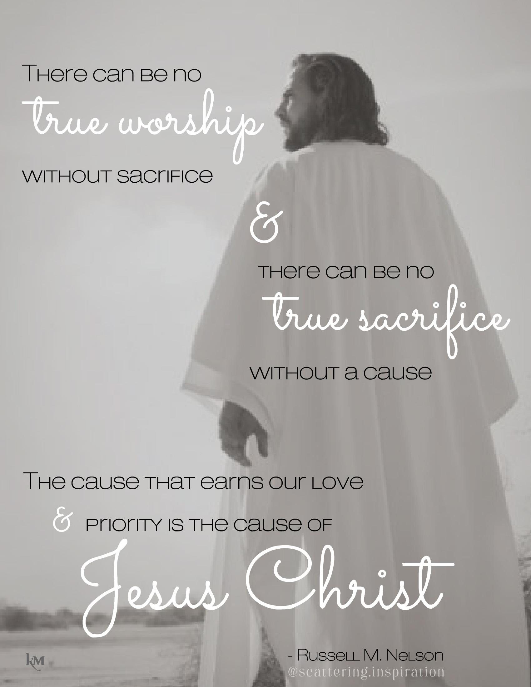 the cause of Jesus Christ