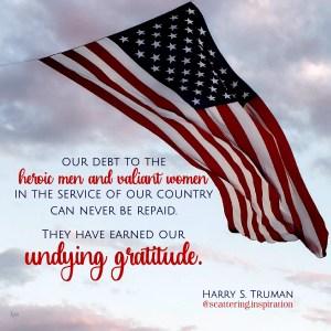undying gratitude