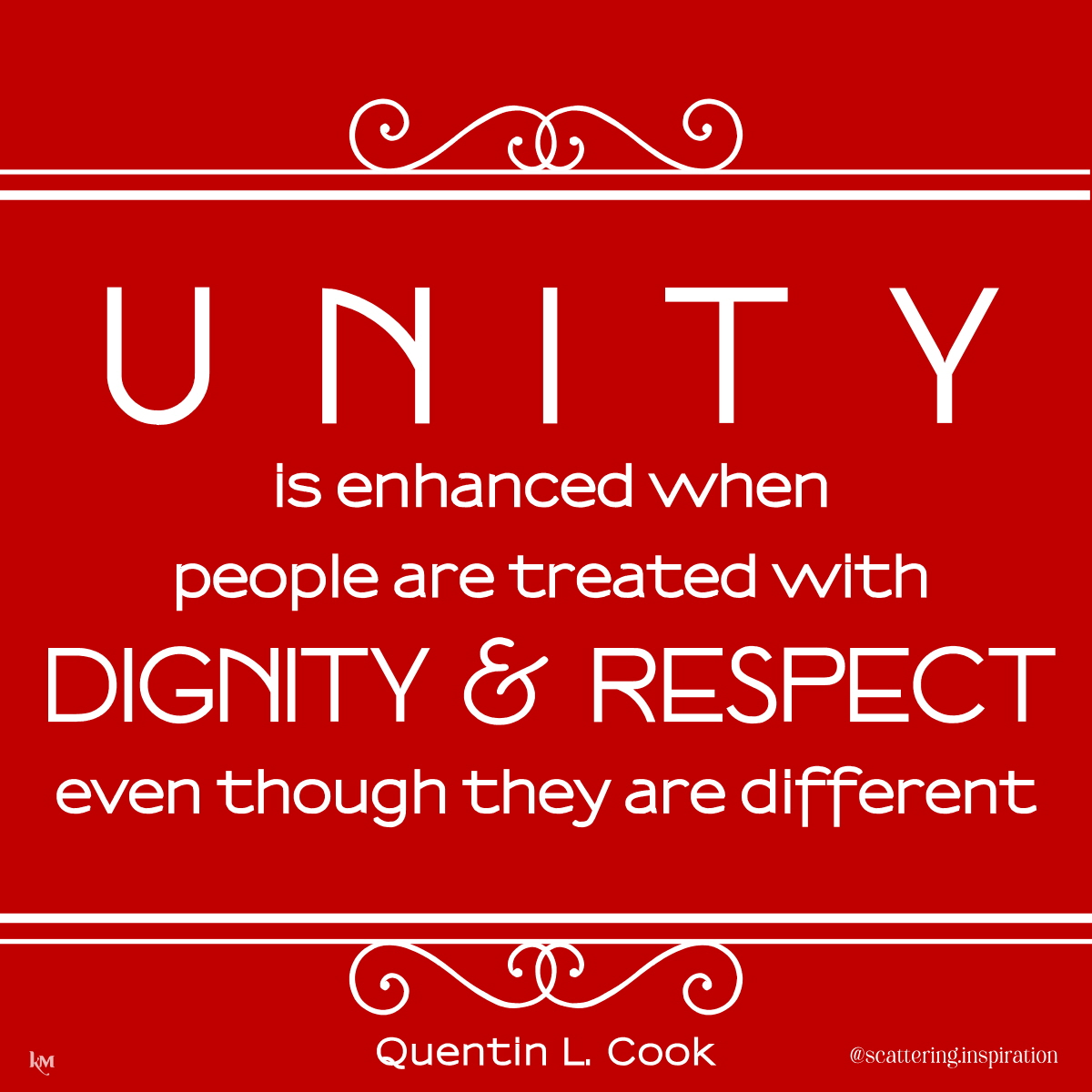 unity is enhanced