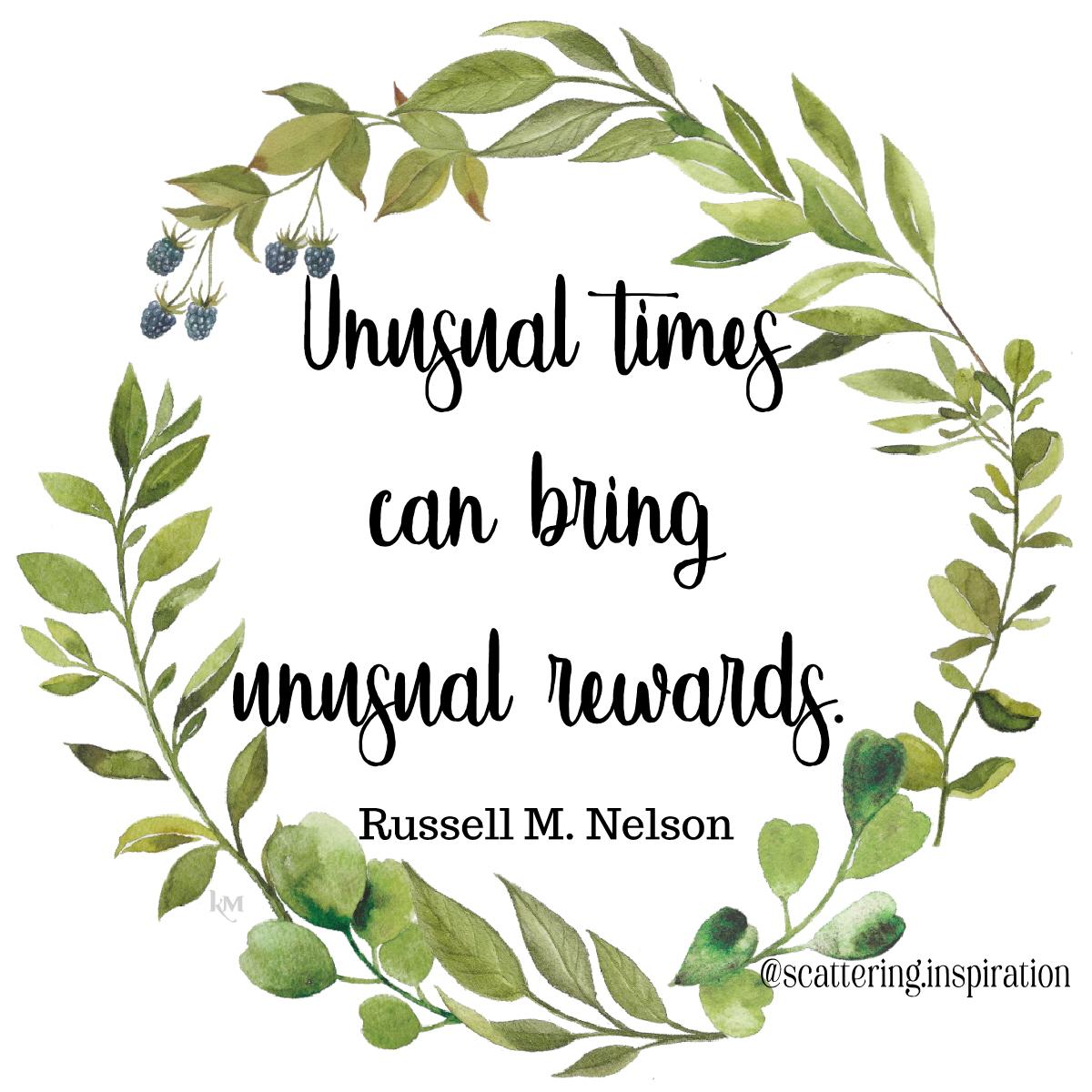 unusual rewards