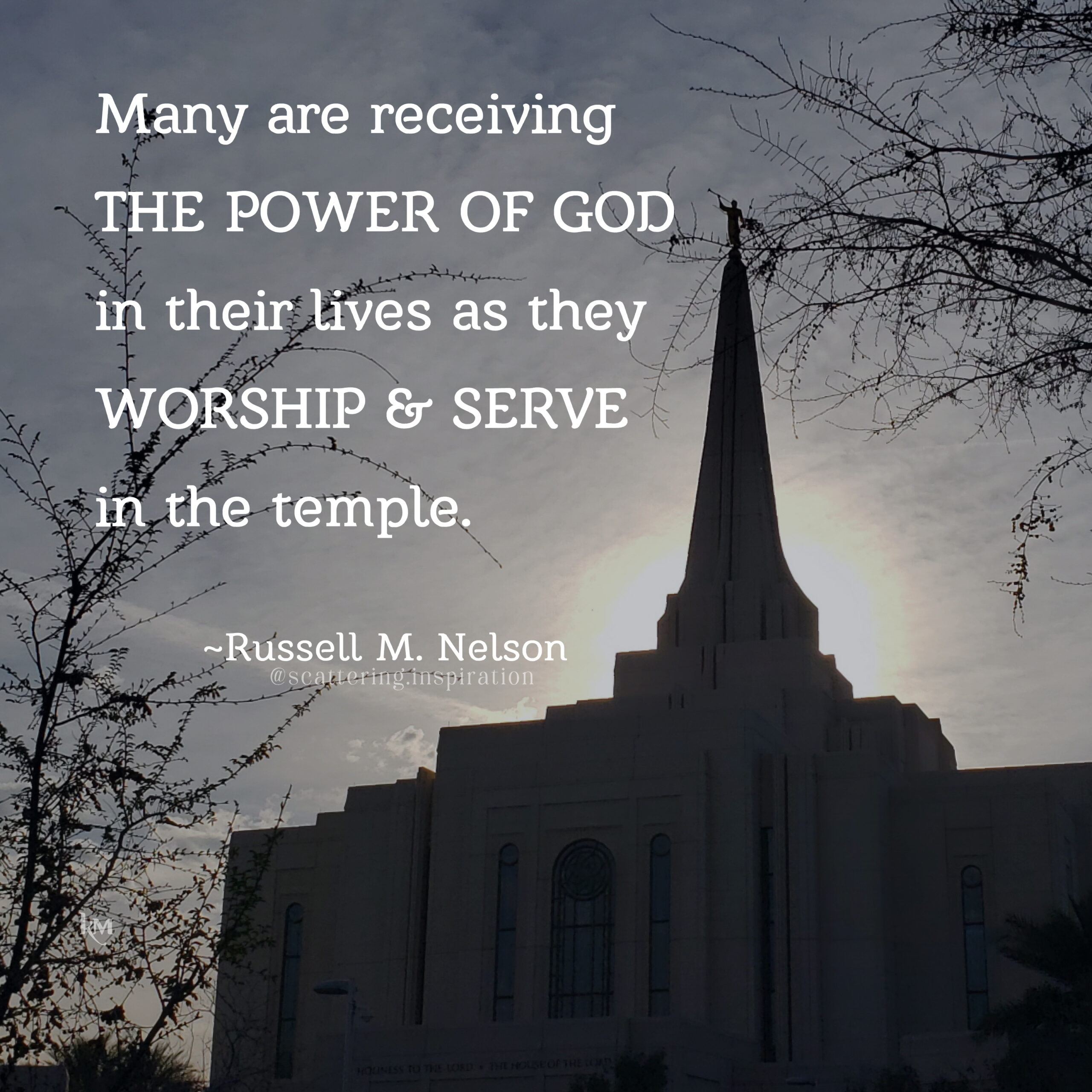 worship and serve