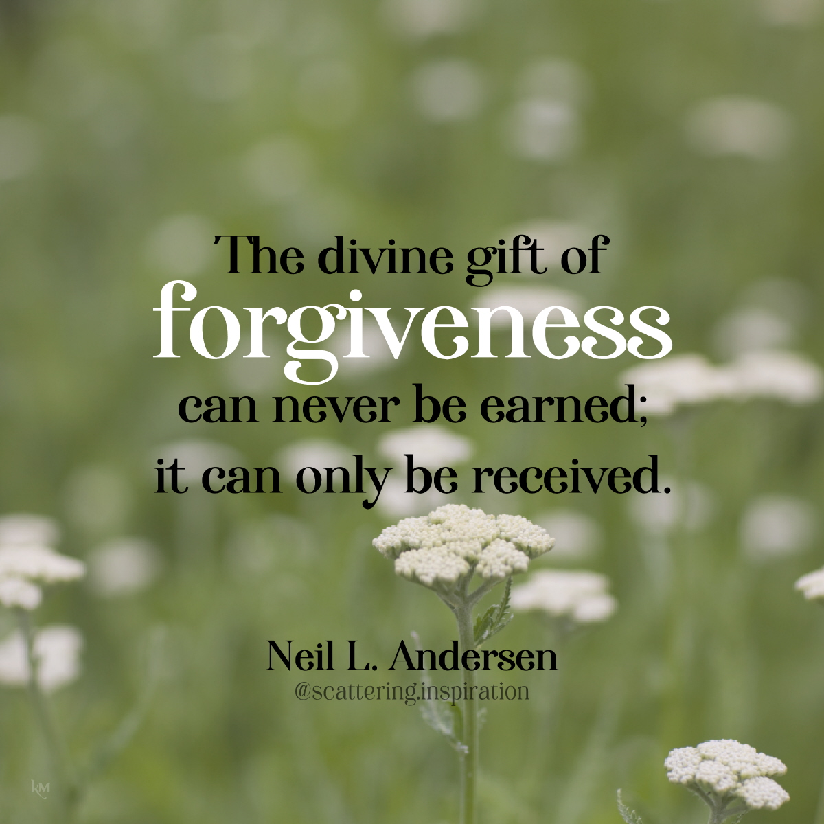 divine gift of forgiveness