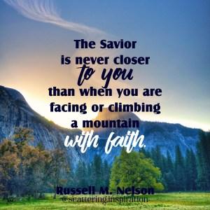 Savior never closer