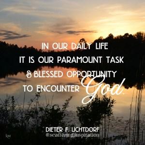 encounter God
