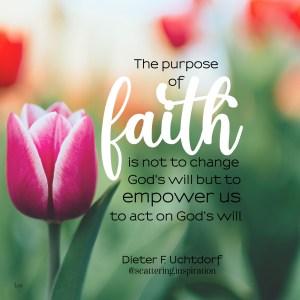purpose of faith