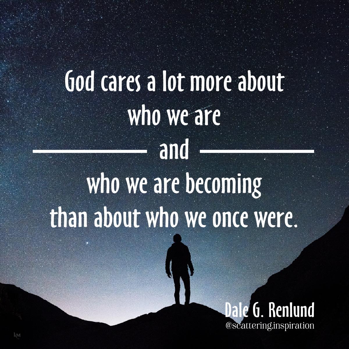 God cares more