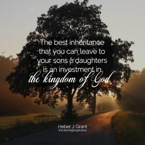 best inheritance
