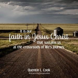 faith in Jesus Christ sustains us