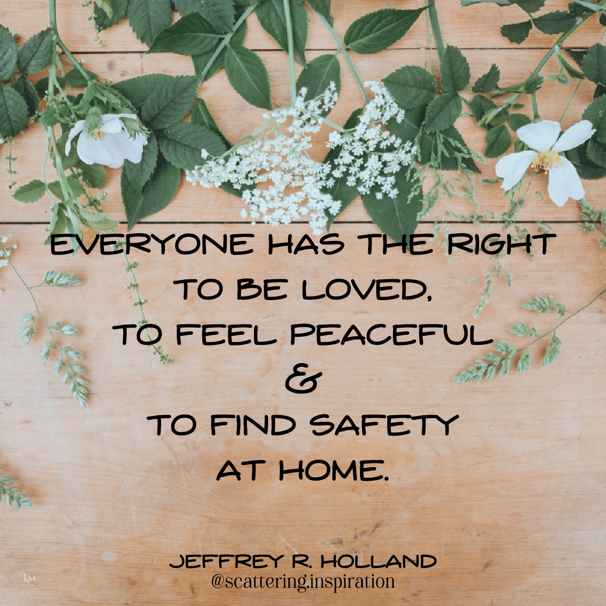 loved peaceful safety