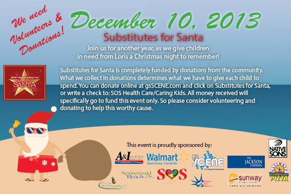 subs for santa post card-use