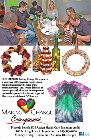Making Change Consignment Store  SC Autism Help