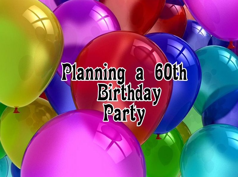 a week to plan a birthday party scavenger chic