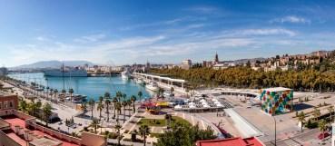 SCB Spain Convention Bureau. Málaga. Muelle Uno y Palmeral