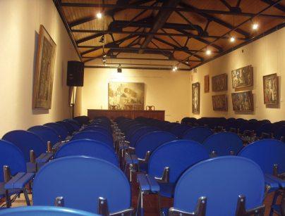 Sala de prensa Museo Villaseñor