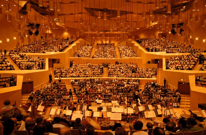 Auditorio (Sala Mozart) Autor DEC