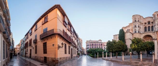 Catedral. Calle de San Agustín y Calle Cister. Málaga