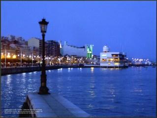 Ciudad en azul Copyright Ayuntamiento de Santander
