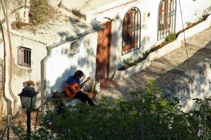 Barrio del Sacromonte (Granada).