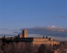 Panorámica de Zamora con castillo y murallas