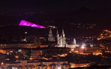 Panoramica Cidade da Cultura de Galicia