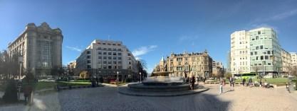 Panoramica desde plaza moyua