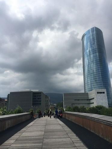 Torre Iberdrola desde pasarela